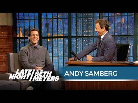 Andy Samberg Has Worn Many Ridiculous Costumes for Seth - Late Night with Seth Meyers