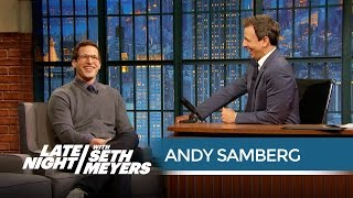 Download Andy Samberg Has Worn Many Ridiculous Costumes for Seth - Late Night with Seth Meyers Mp3 and Videos