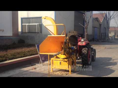 new pto wood chipper