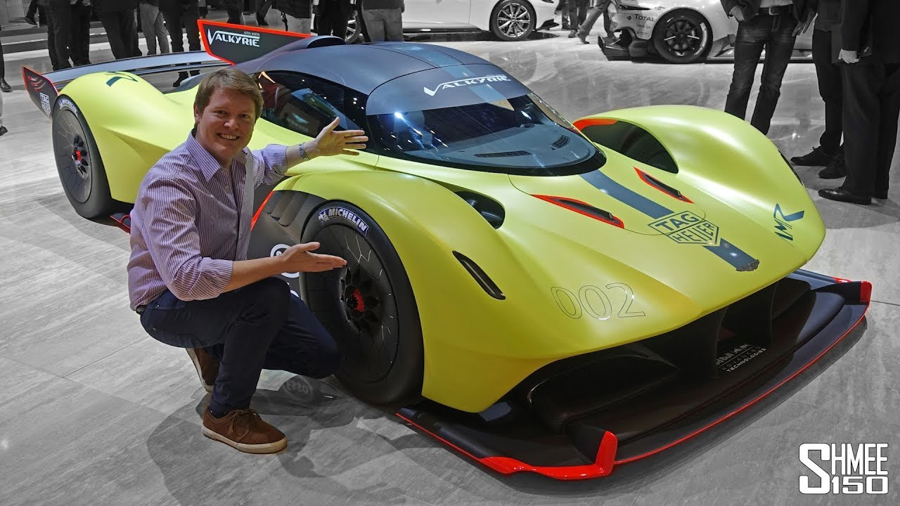 The Aston Martin Valkyrie Amr Pro Is Something Else First Look