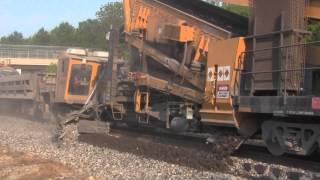 Railroad Ballast Cleaner