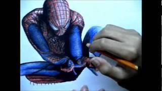 The Amazing Spider-Man Speed Drawing
