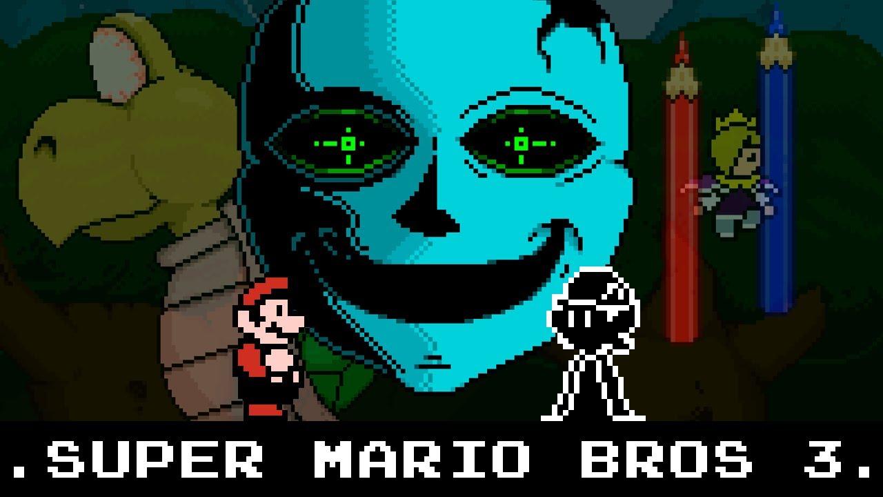 Algo sucedió en Super Mario Bros 3... (Animación)