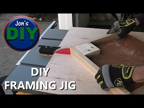 DIY Framing Jig    (build your own picture frames)
