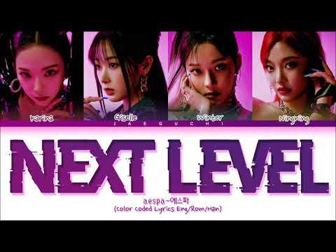 aespa 'Next Level' Lyrics (에스파 Next Level 가사) (Color Coded Lyrics) indir