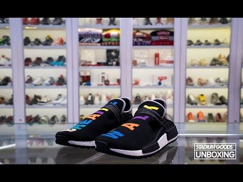 100% authentic fb4ae 2f89a Unboxing $10,000 Pharrell Friends & Family NMD Hu
