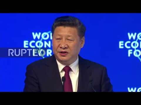 Switzerland: Xi Jinping defends globalisation as WEF 2017 officially gets underway