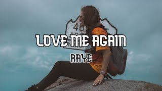 RAYE - Love Me Again (Lyrics)| MusicLibrary