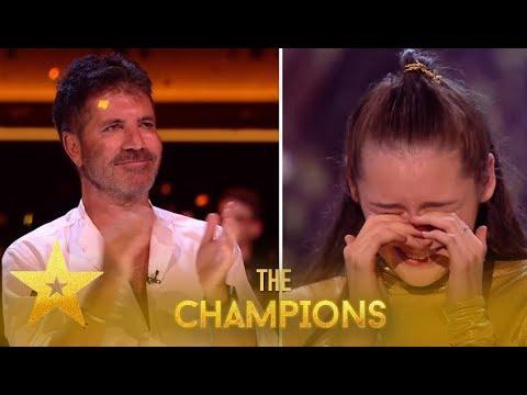 MerseyGirls: Simon Cowell EMOTIONAL After Reunion With Dancer!  Britain's Got Talent: Champions