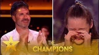 Gambar cover MerseyGirls: Simon Cowell EMOTIONAL After Reunion With Dancer!| Britain's Got Talent: Champions