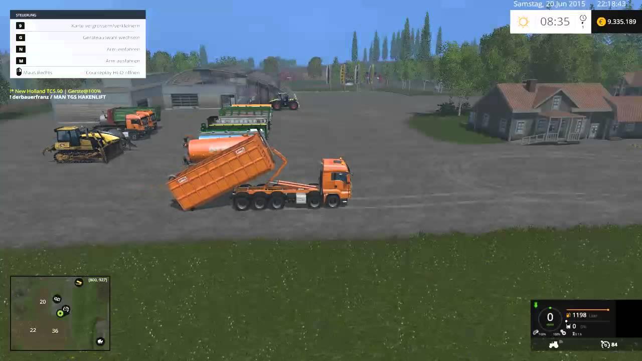 ls 15 man tgs hkl set mod f r landwirtschafts simulator 15. Black Bedroom Furniture Sets. Home Design Ideas