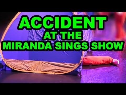 Miranda Sings ACCIDENT on Stage
