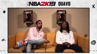NBA 2K19: Quavo Huncho x Ronnie 2K Livestream (pt. 1)