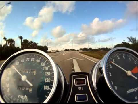 Honda CB750 Cafe Racer GoPro handlebar mount