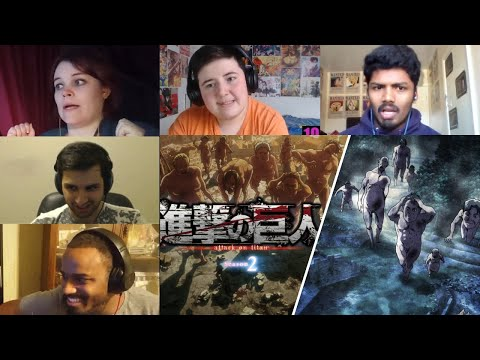 Attack On Titan :Shingeki No Kyojin Season 2 Episode 3 Reaction