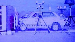 1981 Honda Civic Crash Test | NHTSA | CrashNet1