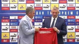 Predstavljanje Ljubiše Tumbakovića kao novog Selektora Srbije   SPORT KLUB FUDBAL