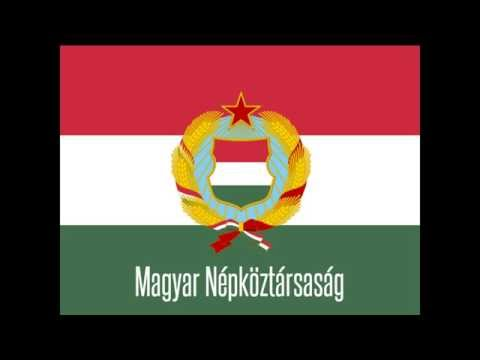 The Anthem of People's Republic of Hungary