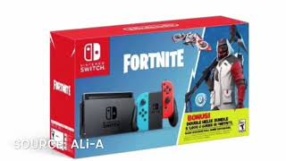 *NEW* Fortnite Battle Royale Double Helix skin Nintendo Switch bundle!