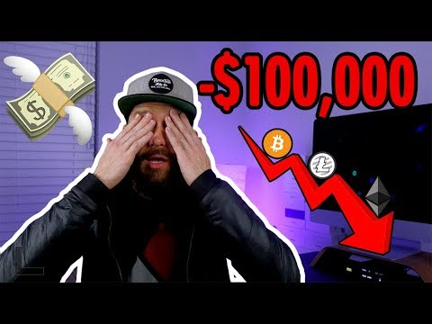 How I lost $100,000 in Bitcoin, Litecoin, & Ethereum - Lessons Learned