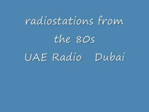 UAE Radio Dubai, radiostation recorded in the 80s