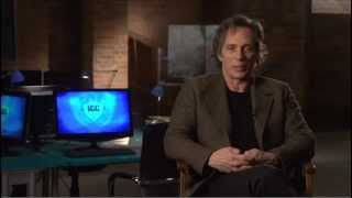 CROSSING LINES - Interview with WILLIAM FICHTNER playing CARL HICKMAN