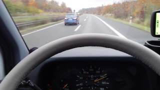 Mercedes Sprinter 312, 2,9 TD, 122 PS  przyspieszenie v- max, acceleration, top speed