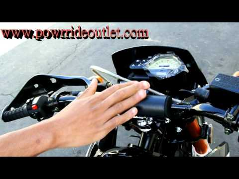 PRO Street Warrior 250cc Enduro Bike