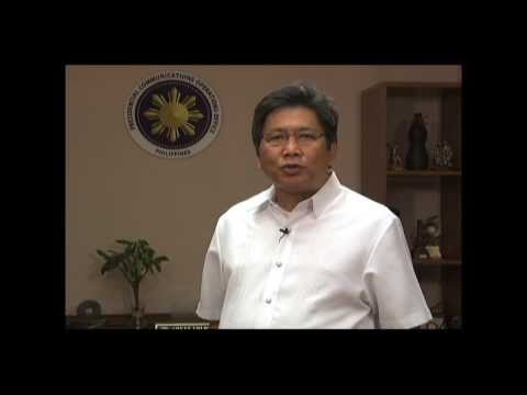 Sec. Sonny Coloma's Commitments in Ending VAW - Philippine Commission on Women