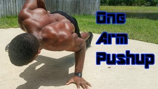 HOW TO | One Arm Pushup Tutorial | Progressions