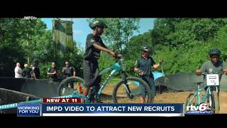 IMPD releases  video to attract new recruits