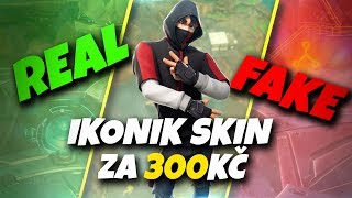 IKONIK SKIN for 300 Kč is it REAL or FAKE? – Fortnite Battle Royale CZ/SK
