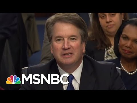 Full Speech: Brett Kavanaugh Delivers Opening Statement After Fiery Hearing Start | Deadline | MSNBC