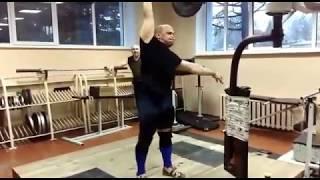 Рывок ОДНОЙ РУКОЙ 80КГ. Харитонов Сергей. One hand snatch Kharitonov Weightlifting & CrossFit