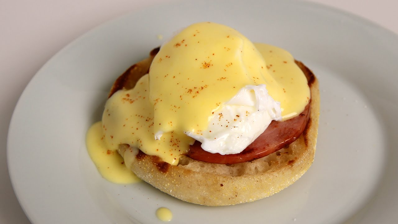 Eggs Benedict Recipe - Laura Vitale - Laura in the Kitchen ...