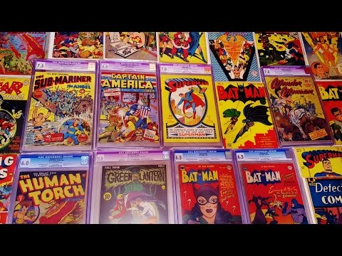 MY GOLDEN AGE COMIC BOOK COLLECTION PART 1