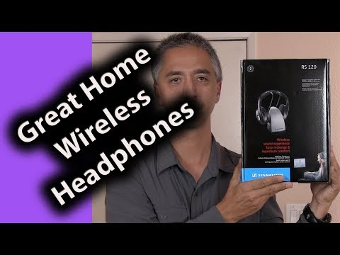 Great Wireless Headphones for TV Watching - Review Sennheiser RS120