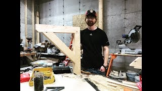Making a Quick and Easy Soffit Bracket