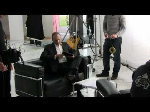 """Das """"Making of"""" zum SmartPad-Spot mit Marcell D'Avis"""