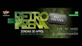 Retro Arena 'Hard Edtion' Live At Bocca Destelbergen 30-04-2017 [Classic Trance & Jump]