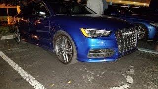 Audi S3 vs Audi TTS & Subaru WRX