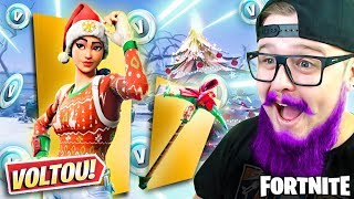 I DON'T BELIEVE IT! SHE'S BACK IN THE STORE! * CHRISTMAS SKIN COMING BACK *-FORTNITE