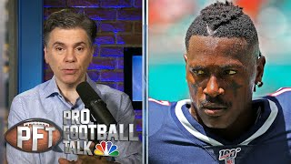 PFT Draft: Seahawks, Ravens top teams that could sign Antonio Brown | Pro Football Talk | NBC Sports