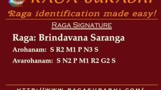Raga Brindavana Saranga: Arohanam, Avarohanam and Alapana | Raga Surabhi
