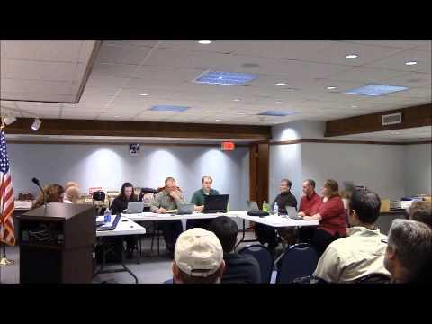 Weyauwega Common Council Meeting of January 19, 2015. Weyauwega, WI