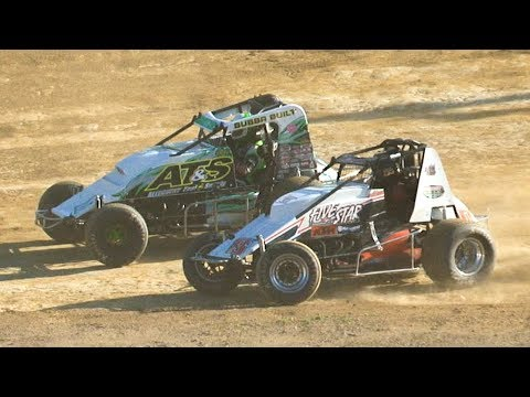 RUSH Sprint Car Heat One | Old Bradford Speedway | 6-30-19