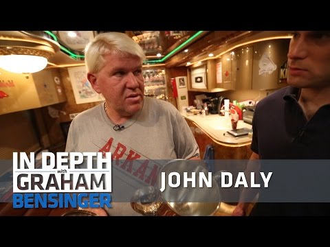 John Daly: Arkansas trashed my major trophies