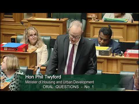 Question 1 - Paul Eagle to the Minister of Housing and Urban Development