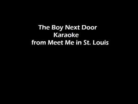 The Boy Next Door Karaoke