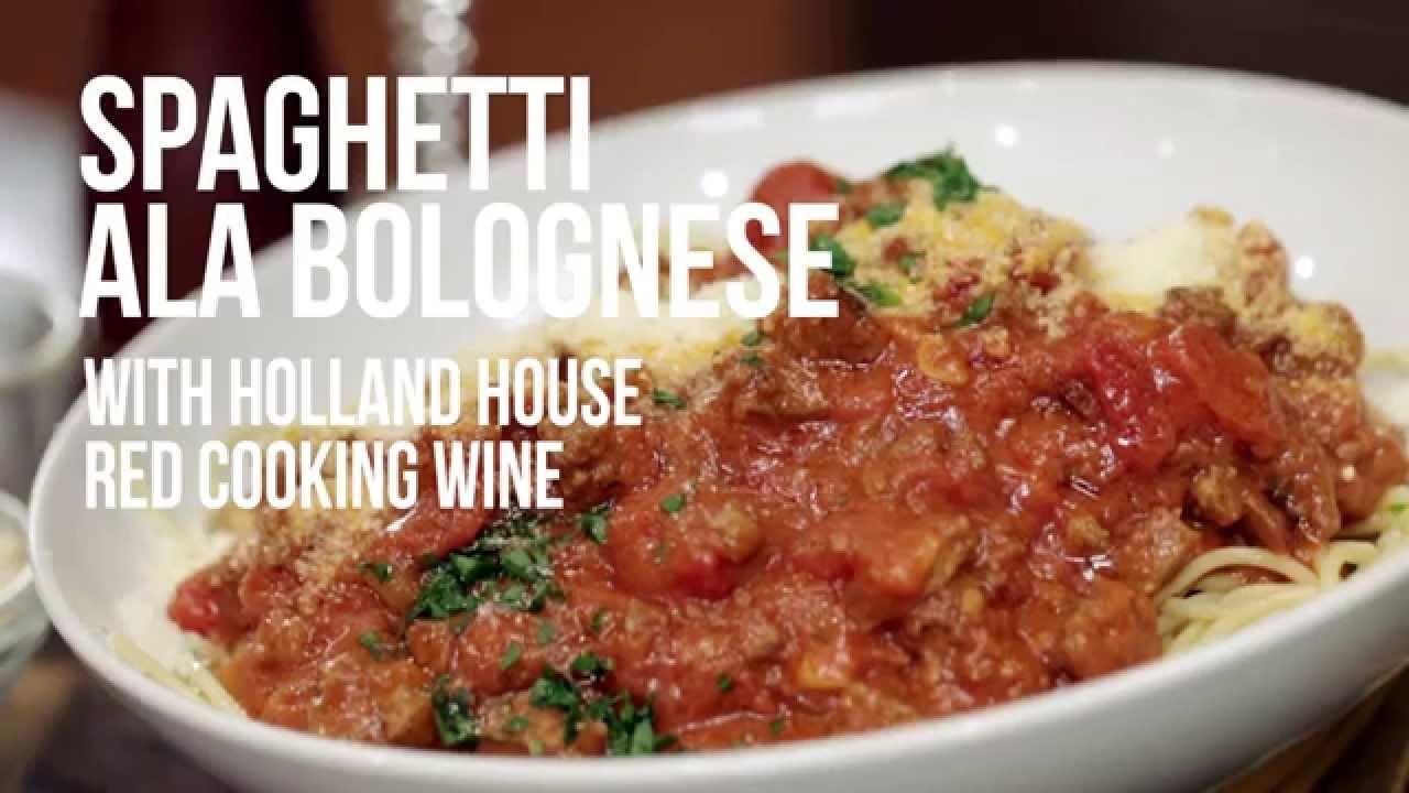 Spaghetti Alla Bolognese Youtube